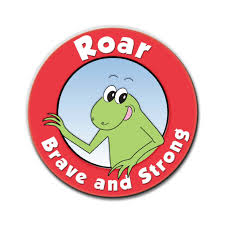 Roar logo - Three More Books to Help Autistic Kids and their Friends - Roar Brave and Strong Series