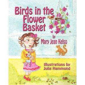 Birds in the Flower Basket  by Mary Jean Kelso