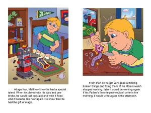 Children with Disabilities Are the Same – Children's Book Magical Matthew by Penny Cole