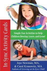 In-Sync Activity Cards: 50 Simple, New Activities -by Joye Newman and Carol Kranowitz