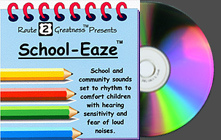 School-Eaze -  The CDs that Cara Koscinski has created, Sound-Eaze