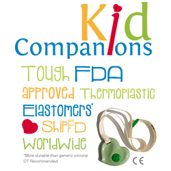 KidCompanions Chewelry chewable necklaces for boys and girls