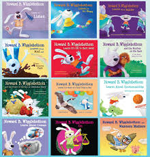 Howard B. Wigglebottom is a  marvelous series of children's books that entertain and educate.