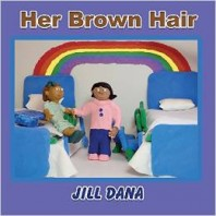 Children's Book on Friendships and the Love of Books – Her Brown Hair by Jill Dana