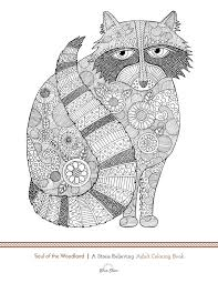 Page 69 of Soul of the Woodland: A Stress Relieving Adult Coloring Book, Celebration Edition by Blue Star Premier and illustrator Suzy Joyner