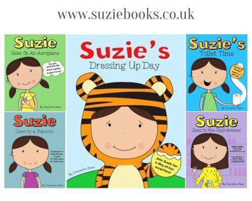 Suzie Book Series by Charlotte Olson - Social Stories for autistic kids and all kids who are anxious in new situations.