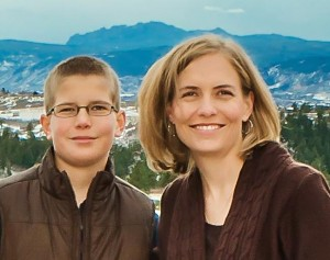 son with Kristen - Interview Kristen DeBeer: Kid's Book on Learning Differences, Son with ADHD and Dyslexia